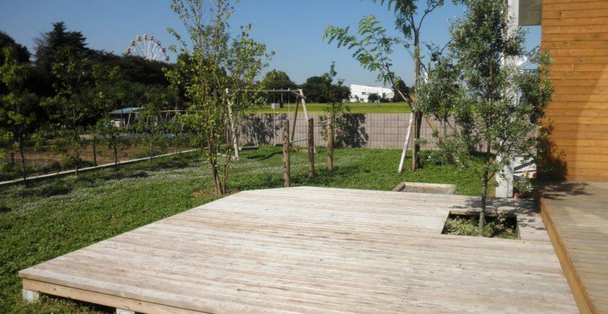 ブランコのある庭|埼玉県羽生市 K様のエクステリア、植栽工事