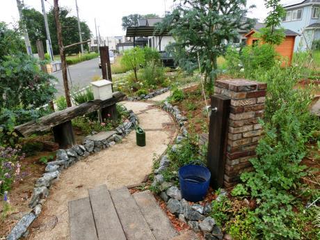 お客さまと作るナチュラル・ガーデン2|比企郡滑川町 K様邸の外構、エクステリア、植栽工事