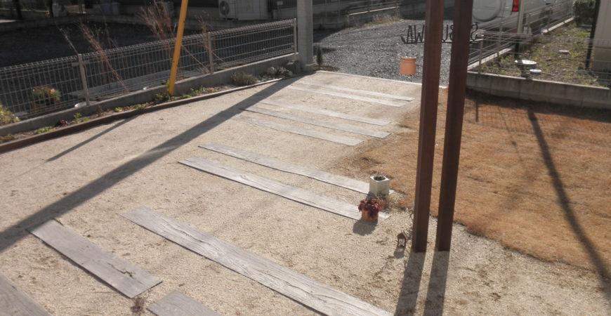 まさにアウトドア・ライフ!|埼玉県熊谷市 S客様のエクステリア、植栽工事
