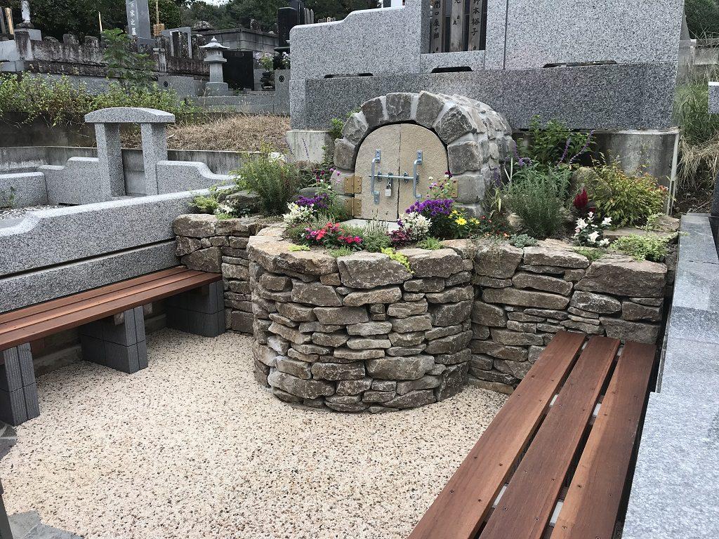 新しいスタイルの『お墓』をつくる|埼玉県熊谷市にお住いのS様ご依頼による造園工事