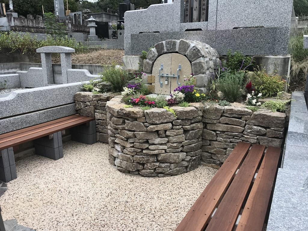 新しいスタイルの『お墓』をつくる 埼玉県熊谷市にお住いのS様ご依頼による造園工事