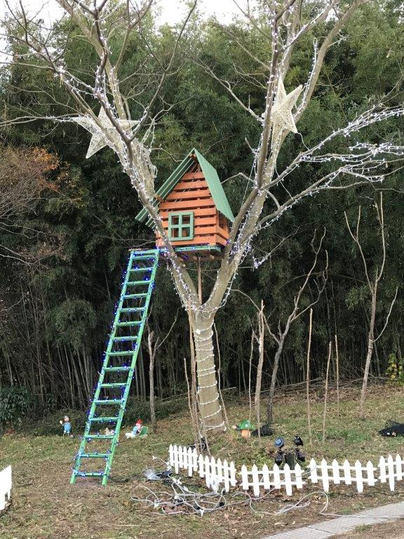 ツリーハウスの製作
