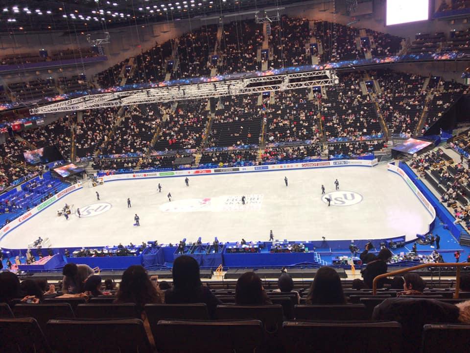 フィギュアスケート世界選手権2019inさいたまスーパーアリーナ