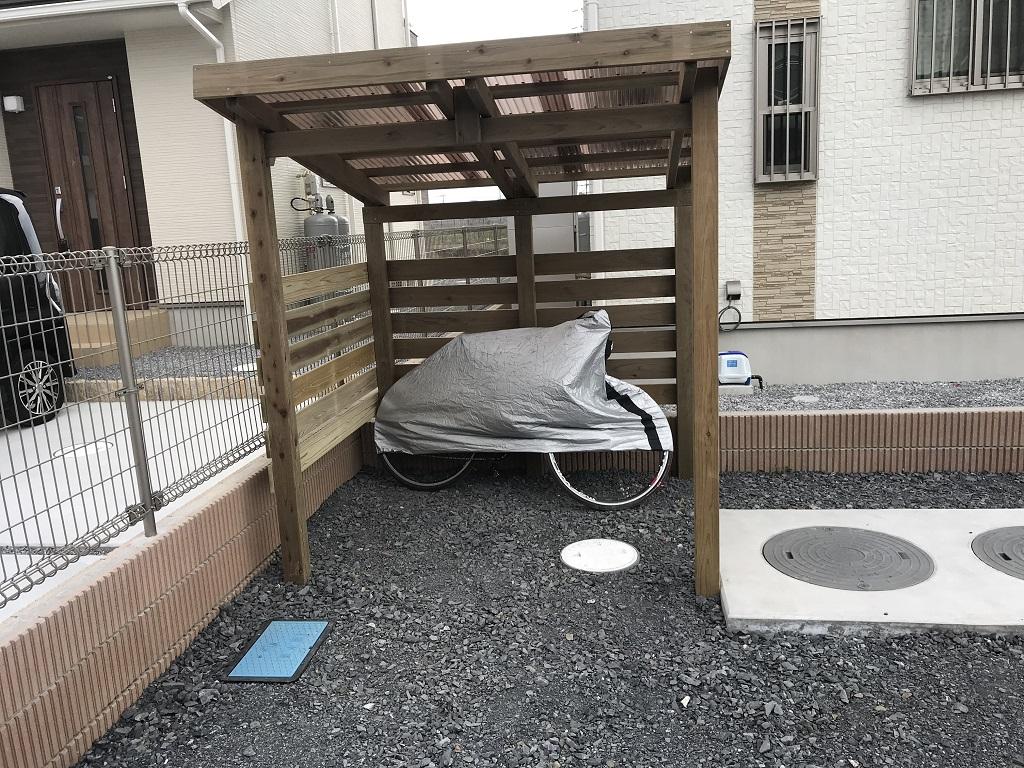 木製製品でまとめたナチュラルなお庭|埼玉県羽生市のS様邸にて外構・エクステリア工事