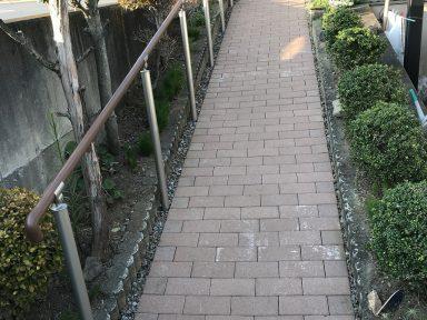 スロープ改修工事