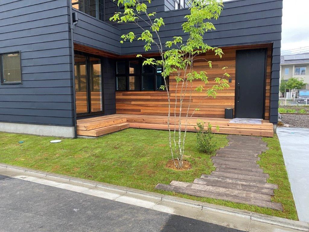 ビルダーさんと取り組む庭づくり①|埼玉県秩父市のH様邸にて外構・エクステリア・植栽工事